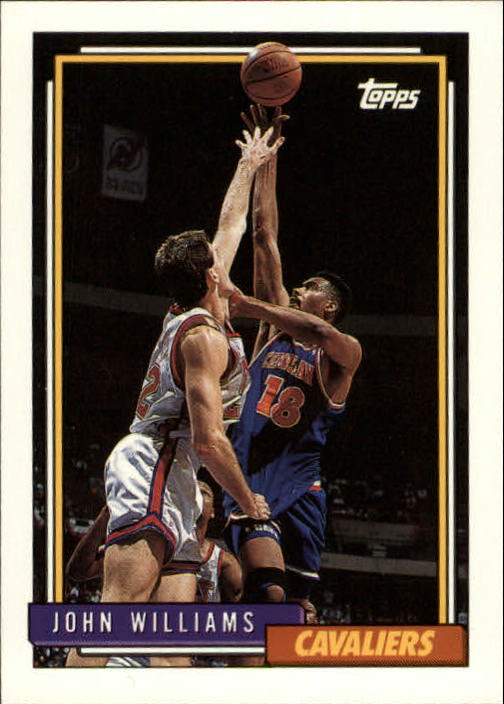 1992-93 Topps #61 John Williams