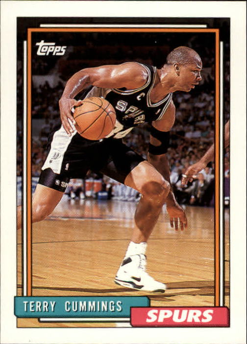 1992-93 Topps #91 Terry Cummings