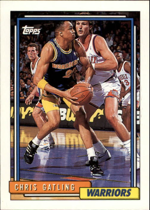 1992-93 Topps #96 Chris Gatling