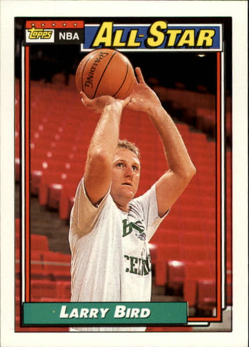 1992-93 Topps #100 Larry Bird AS