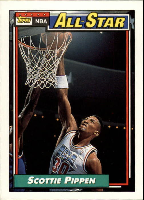 1992-93 Topps #103 Scottie Pippen AS