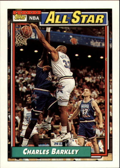 1992-93 Topps #107 Charles Barkley AS
