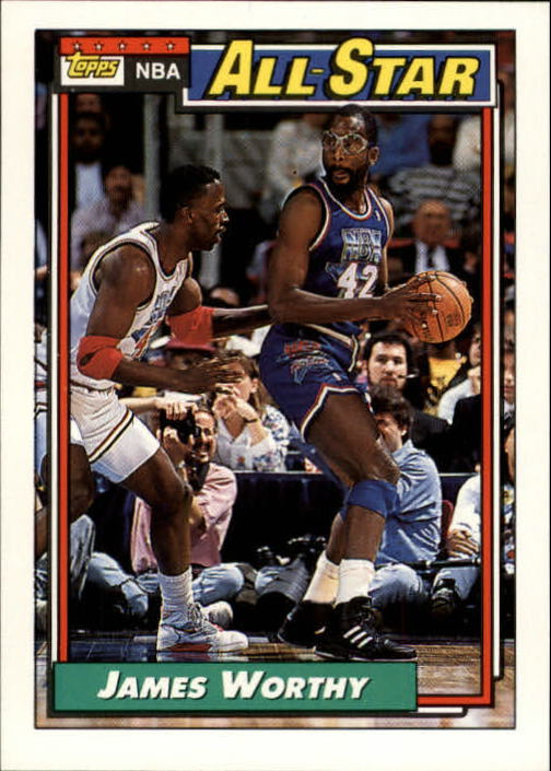 1992-93 Topps #108 James Worthy AS