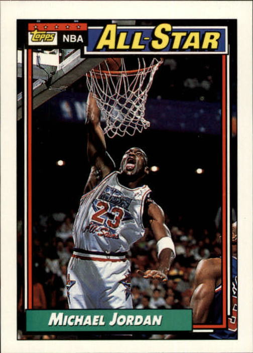 1992-93 Topps #115 Michael Jordan AS