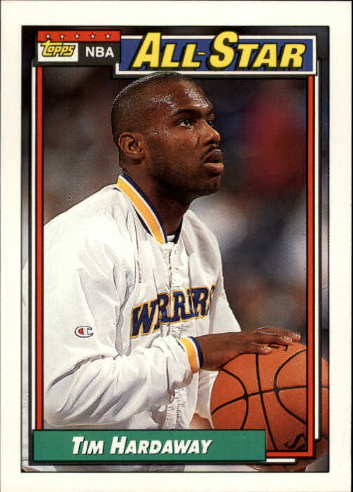 1992-93 Topps #119 Tim Hardaway AS