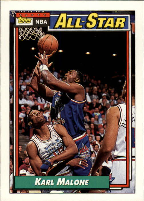 1992-93 Topps #123 Karl Malone AS