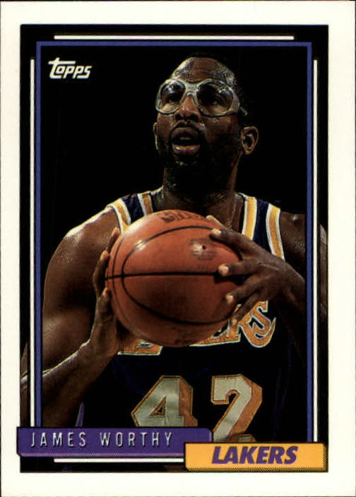 1992-93 Topps #255 James Worthy