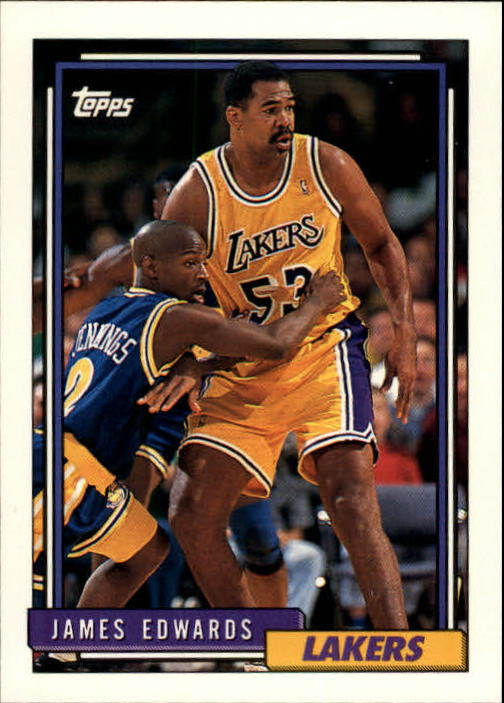 1992-93 Topps #374 James Edwards