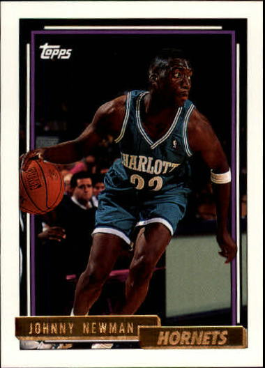 1992-93 Topps Gold #5 Johnny Newman