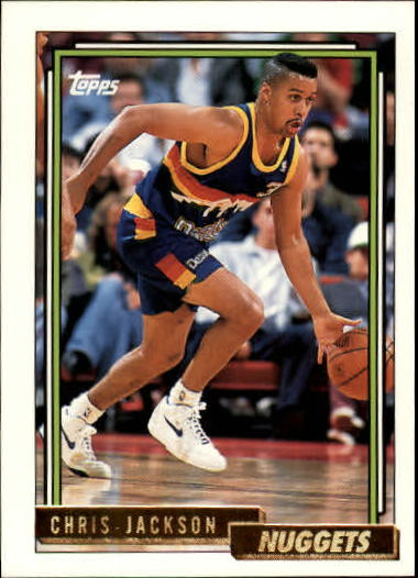 1992-93 Topps Gold #8G Chris Jackson