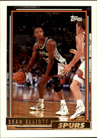 1992-93 Topps Gold #10G Sean Elliott