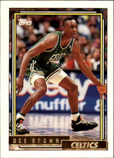 1992-93 Topps Gold #17G Dee Brown