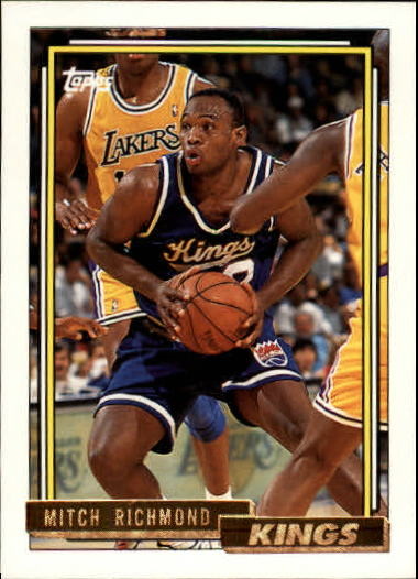 1992-93 Topps Gold #25G Mitch Richmond
