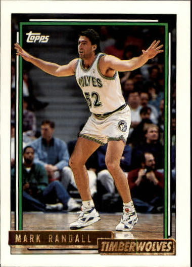 1992-93 Topps Gold #28G Mark Randall
