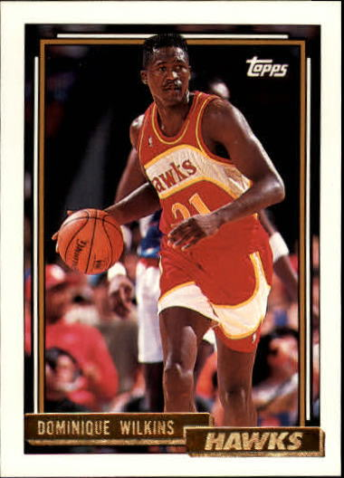 1992-93 Topps Gold #35G Dominique Wilkins