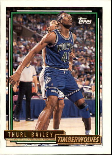 1992-93 Topps Gold #59G Thurl Bailey