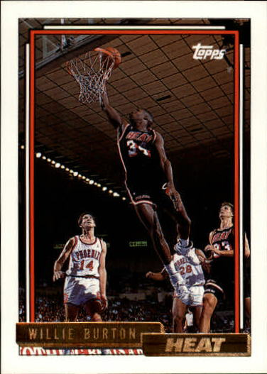1992-93 Topps Gold #62G Willie Burton