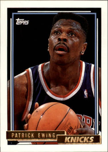 1992-93 Topps Gold #66 Patrick Ewing