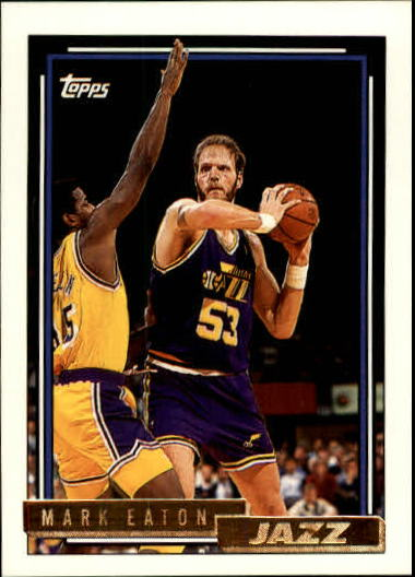 1992-93 Topps Gold #71G Mark Eaton