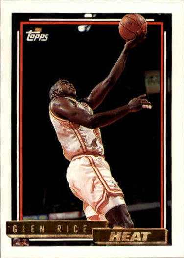1992-93 Topps Gold #77G Glen Rice