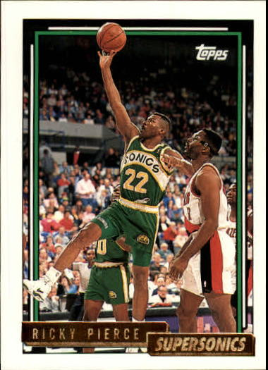 1992-93 Topps Gold #85G Ricky Pierce