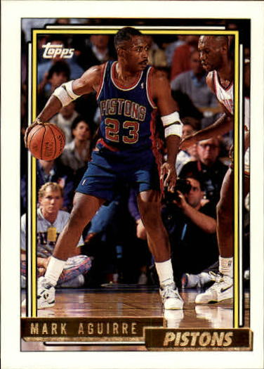 1992-93 Topps Gold #86G Mark Aguirre