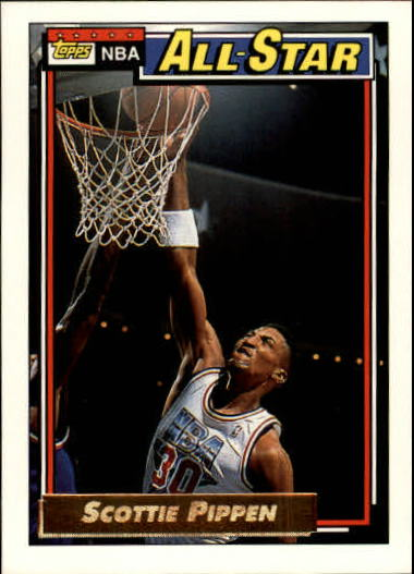 1992-93 Topps Gold #103G Scottie Pippen AS front image