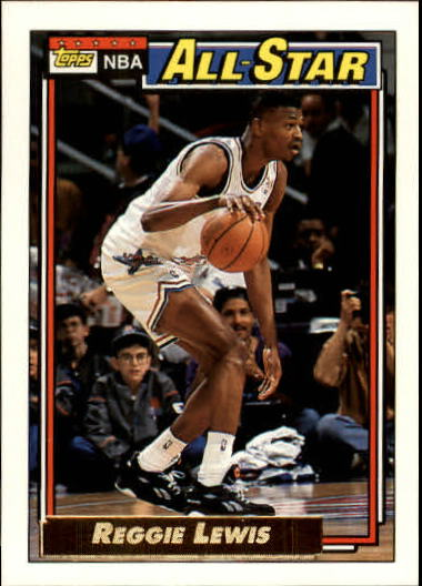 1992-93 Topps Gold #104G Reggie Lewis AS