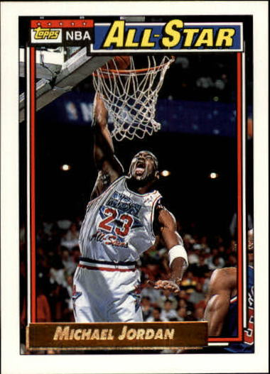1992-93 Topps Gold #115G Michael Jordan AS