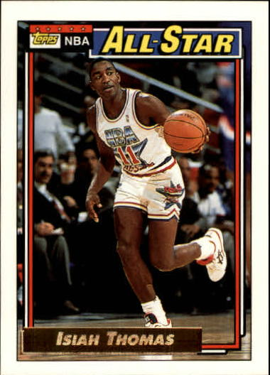 1992-93 Topps Gold #118 Isiah Thomas AS