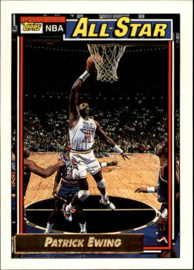 1992-93 Topps Gold #121G Patrick Ewing AS