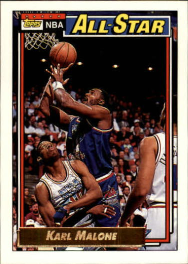 1992-93 Topps Gold #123 Karl Malone AS