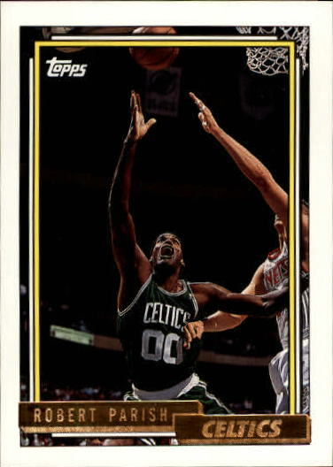 1992-93 Topps Gold #146 Robert Parish