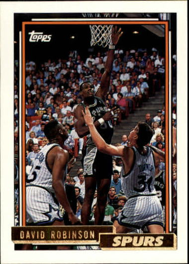 1992-93 Topps Gold #277G David Robinson