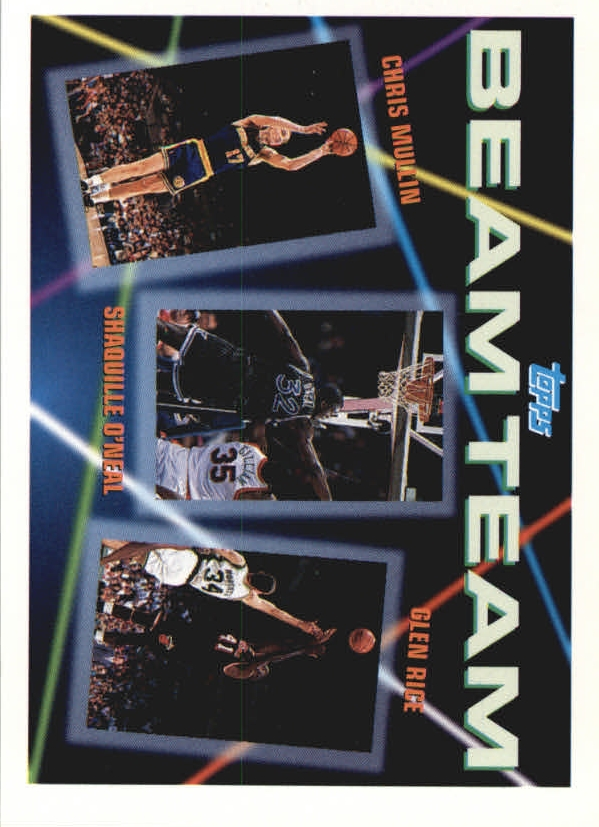 1992-93 Topps Beam Team #7 Chris Mullin/Shaquille O'Neal/Glen Rice