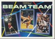1992-93 Topps Beam Team Gold #4 Dominique Wilkins/John Stockton/Utah Jazz/Karl Malone