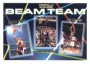 1992-93 Topps Beam Team Gold #6 Scottie Pippen/David Robinson/Jeff Malone