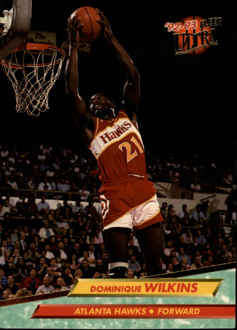1992-93 Ultra #6 Dominique Wilkins