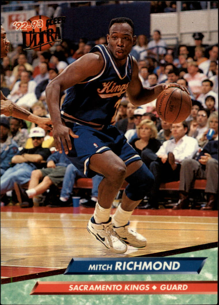 1992-93 Ultra #158 Mitch Richmond