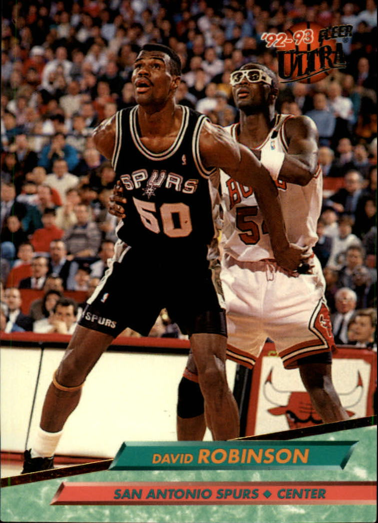1992-93 Ultra #167 David Robinson