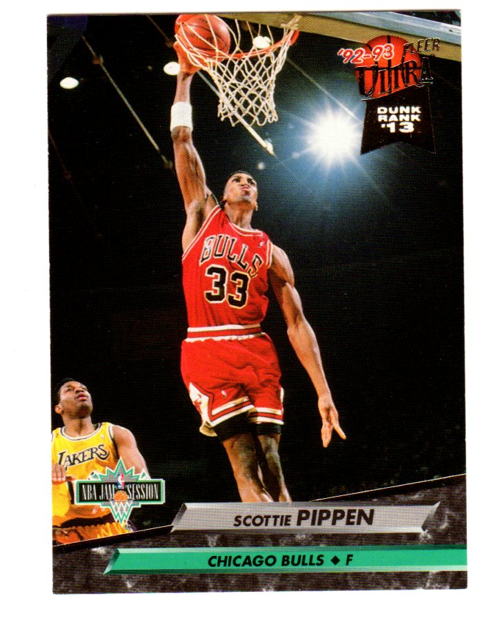 1992-93 Ultra #213 Scottie Pippen JS