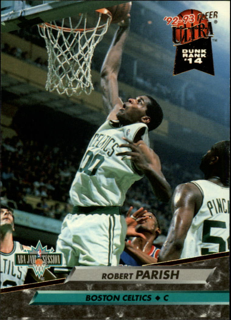 1992-93 Ultra #214 Robert Parish JS