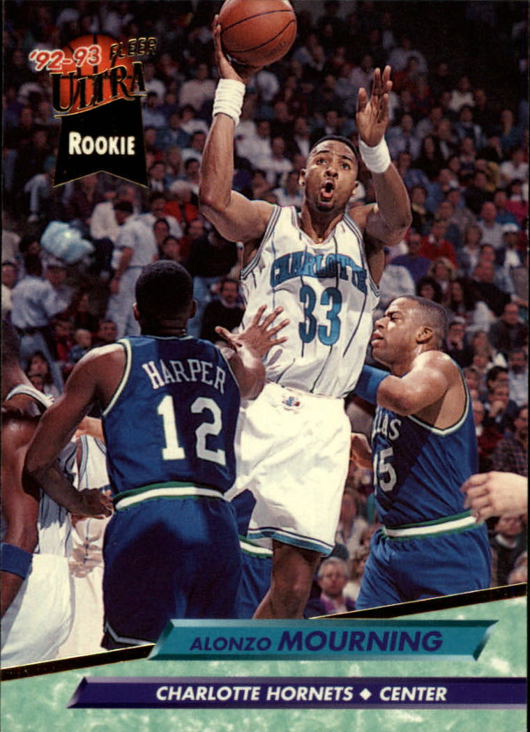 1992-93 Ultra #234 Alonzo Mourning