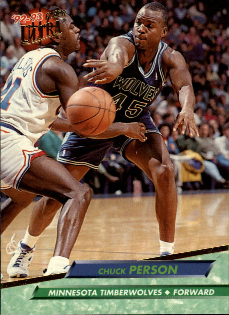 1992-93 Ultra #307 Chuck Person