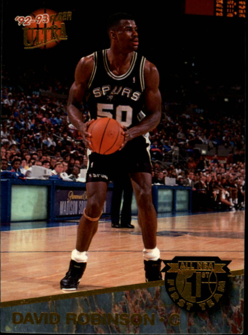 1992-93 Ultra All-NBA #3 David Robinson