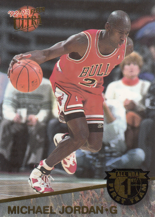 1992-93 Ultra All-NBA #4 Michael Jordan