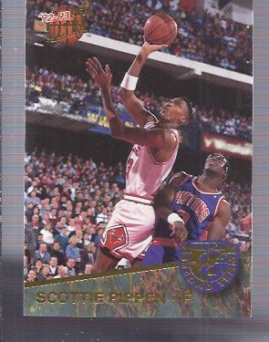 1992-93 Ultra All-NBA #6 Scottie Pippen