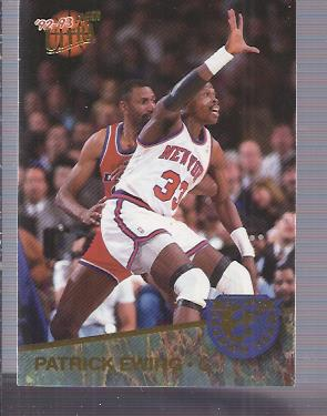1992-93 Ultra All-NBA #8 Patrick Ewing