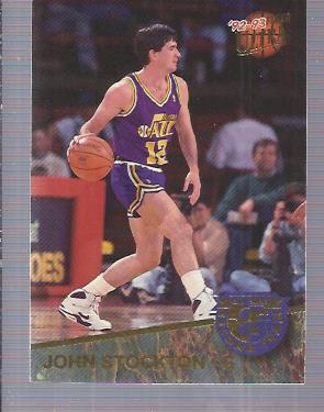 1992-93 Ultra All-NBA #10 John Stockton