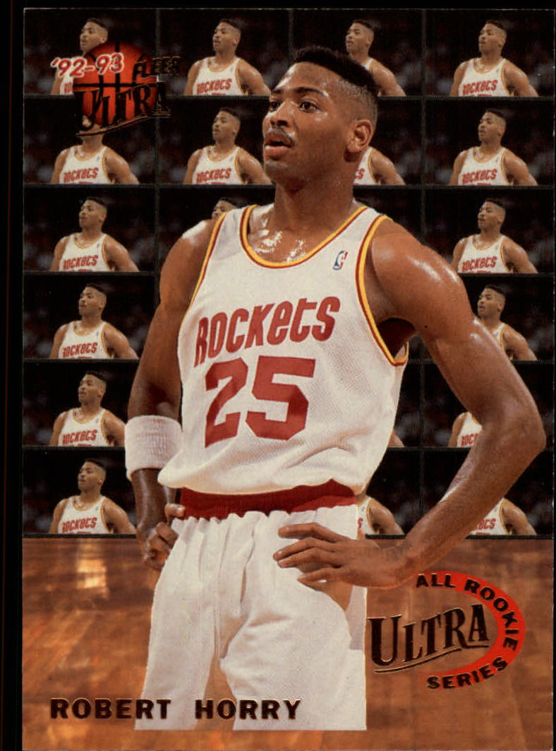 1992-93 Ultra All-Rookies #3 Robert Horry